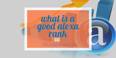 what is a good alexa rank