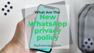 New WhatsApp privacy policy