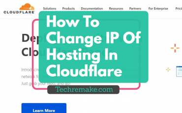 Change Ip Of Hosting In Cloudflare